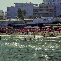 Утро на пляже :: Адик Гольдфарб