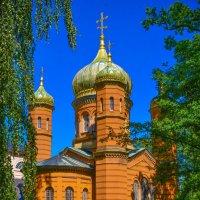 Церковь Марии Магдалины в маленьком немецком городе Веймар :: Виктория Наход