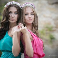 Две сестрички :: Андрей Молчанов