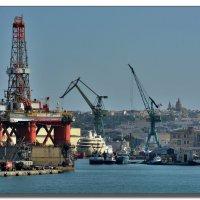 В порту Валетты. :: Leonid Korenfeld