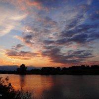 Сентябрь, закат. :: Антонина Гугаева
