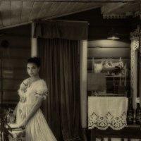 Она любит сказки и тёплый чай с молоком :: Ирина Данилова