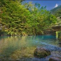 Голубое озеро :: Дмитрий Motorin