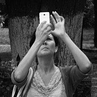 Портрет уличного фотографа. :: Александр Строков