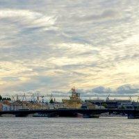 Благовещенский мост :: ПетровичЪ,Владимир Гультяев