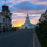 Спасская башня Казанского Кремля :: Александр Лядов