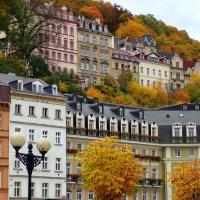 Разноцветный город :: Ирина Румянцева