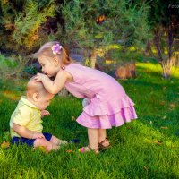 Я тебя поцелую,ты только  не плачь) :: Ольга Литвинова
