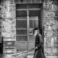 Монах за работой :: Vasiliy V. Rechevskiy