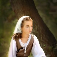 Девочка-крестьянка :: Светлана Кудинова
