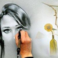 «Я нарисую твой портрет ...» :: vitalsi Зайцев
