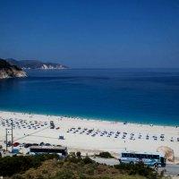 Остров Кефалония, Греция,пляж Миртос. :: Надежда
