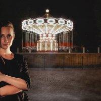 Night park :: Виктор Веденяпин
