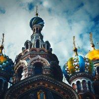Закинув голову в Питере :: Irina Novikova
