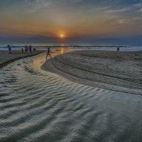 океан,река,закат :: Александр