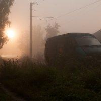 ночь... туман... :: Александр Пикалов