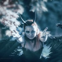 темный ангел :: Ярослава Бакуняева