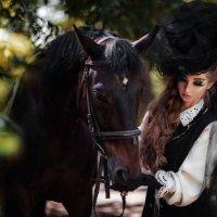 Саша и лошадка :: Татьяна Кутеева