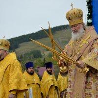 Патриарх Кирилл в Горно-Алтайске :: Алексей Тырышкин