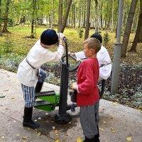 1000-летие Старой Руссы. Детские забавы. :: Sergey Serebrykov