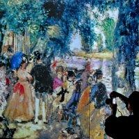 Мультимедийная выставка «От Моне до Сезанна. Французские импрессионисты» :: Анастасия Смирнова