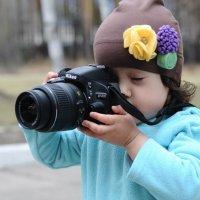 Самый юный фотограф))) :: Евгения Антипова