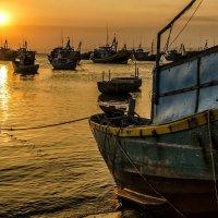 Sunset on the ocean :: Dmitry Ozersky
