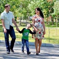 семейная прогулка :: Евгения Полянова