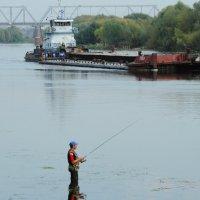 река Москва в Коломне :: Анатолий Петров