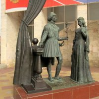 """Батайск. Скульптурная композиция """"Ромео и Джульетта"""" :: Нина Бутко"""