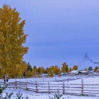 Осень..утро...снег.. :: Светлана