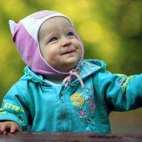 веселая малышка. :: Наталья Малкина