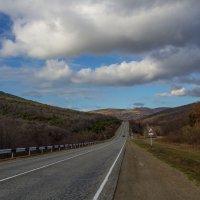 Дорога в Большой Утриш :: Марина