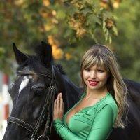 девушка с лошадью :: alexia Zhylina