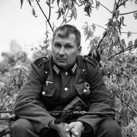 Уставший солдат. :: Аркадий Шведов