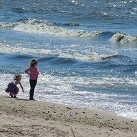 Девочки и море :: Мария Кондрашова