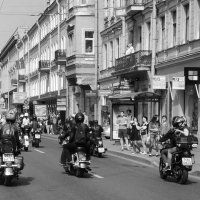 "Мотопарад ""Harley-davidson"" :: Мария Кондрашова"