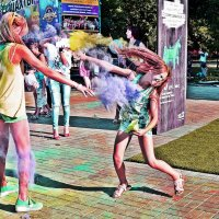 На фестивале красок :: Владимир Болдырев
