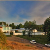 русский север, Павло-Обнорский мужской монастырь :: Дмитрий Анцыферов