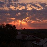 Восход в Новосибирске :: Любовь Давидович