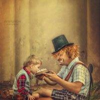 Малыш и Карлсон... :: Марина Кузнецова