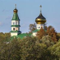 Сельский храм. :: Sergey Serebrykov