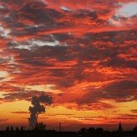 Небесный пожар :: Alexander Andronik