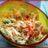 Салат со свежей капустой :: Андрей Заломленков