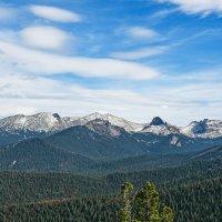 Саянские горы с Буйбинского перевала. :: юрий Амосов