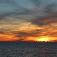 закат перед ненастьем :: valeriy khlopunov