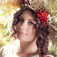 Девушка-Осень :: Иван Забелин