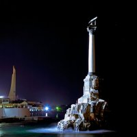 Памятник затопленным кораблям. :: Сергей Щербатюк