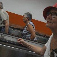 В римском метро... :: Людмила Синицына
