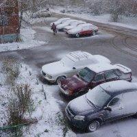 Вот и зима подкралась... :: Алексей Golovchenko